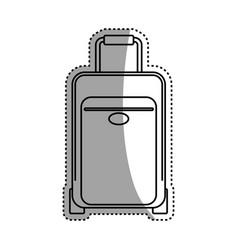 Luggage case handle vector