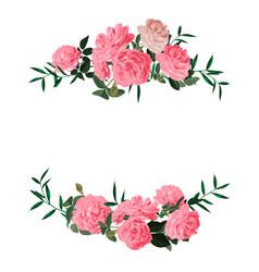 wreaths- laurels - borders vector image