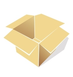 Icon of empty box vector