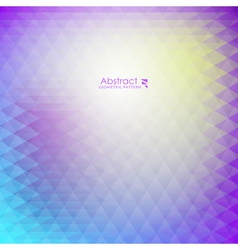 Abstract purple geometric pattern vector image