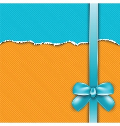Cover of the present box vector image