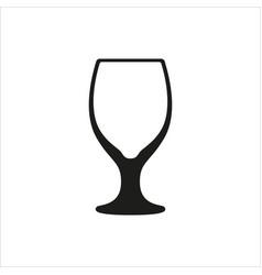 empty beer mug vector image