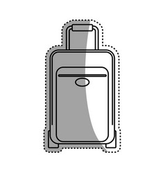 Luggage case handle vector