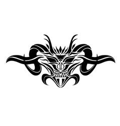 satan vector image vector image