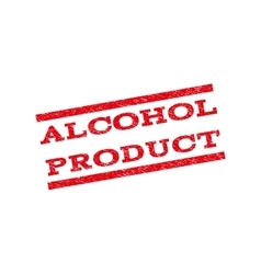 Alcohol product watermark stamp vector