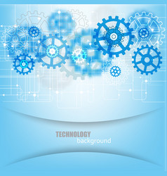 Abstract future technology engineering vector