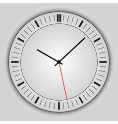 abstract simple round clock vector image