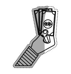 Money cash billet vector image vector image