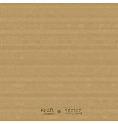 Realistic kraft texture vector image