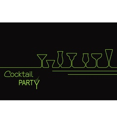 Cocktails vector