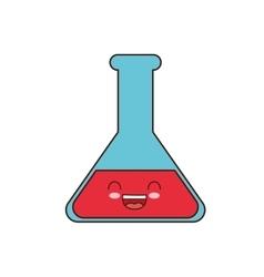 Flask class school instrument icon vector