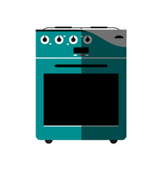 Oven stove icon image vector