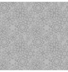 seamless floral pattern eps 10 vector image