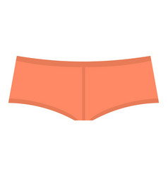 Coral boyshorts icon isolated vector
