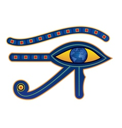 Egypt eye vector