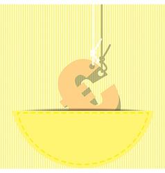 euro money symbol vector image