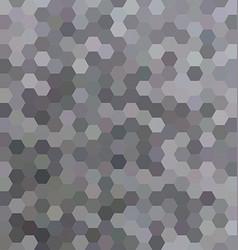 Grey abstract hexagonal honey comb background vector