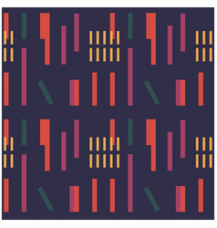 Industrial uneven geometric seamless pattern vector