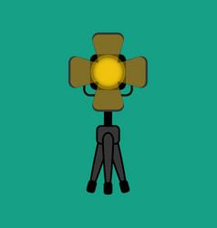 Lighting projector vector