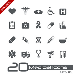 Medicine Health Care Basics Series vector image vector image