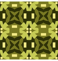 Green seamless pattern made from man figures vector