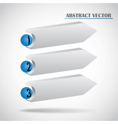 abstract arrows vector image