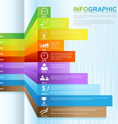 Infographic grow business 02 vector