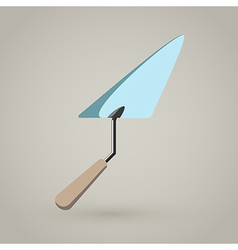 Trowel spatula icon vector