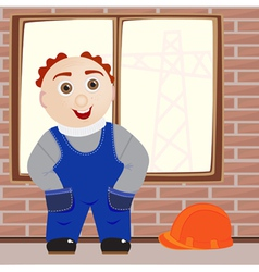 The Worker vector image