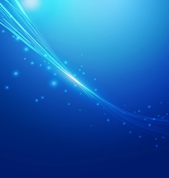 Lines Abstract Blue Background vector image