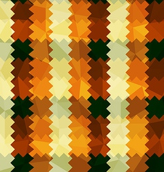 zigzag lines orange seamless pattern vector image vector image