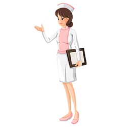 A health care practitioner vector