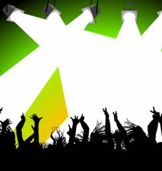 rave party vector image