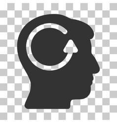 Refresh head memory icon vector