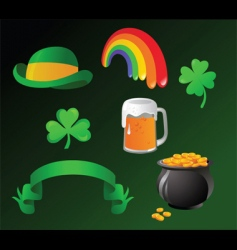 St patrick day icon vector