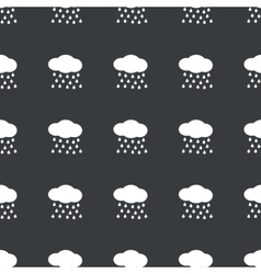 Straight black rain pattern vector