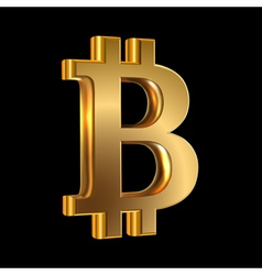 Bit coin vector image vector image