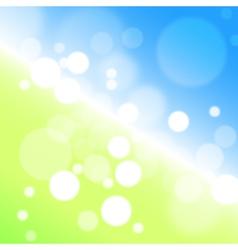 Background bokeh vector image