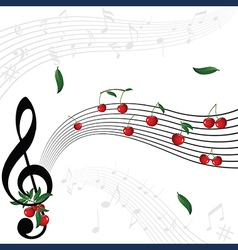 Berry music vector