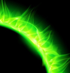 korona ug Green 01 vector image vector image