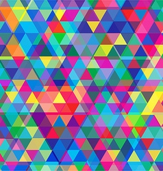 Multi Coloured Mosaic Background vector image