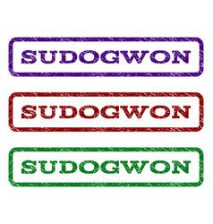 Sudogwon watermark stamp vector