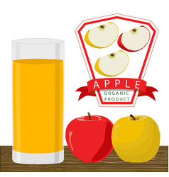 The theme apple vector