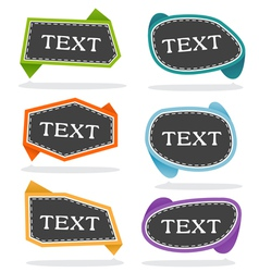 Pop-up bubble text vector