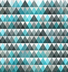 Triangle blue seamless vector