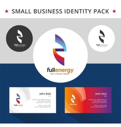 Abstract energy identity pack concept good for vector