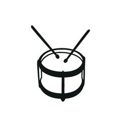 Drums musical instruments drumstick drum vector