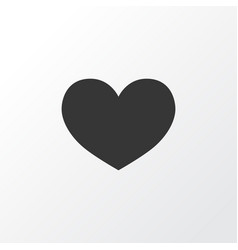heart icon symbol premium quality isolated love vector image vector image
