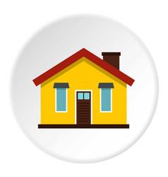 House icon circle vector