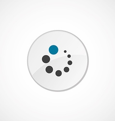 loading icon 2 colored vector image